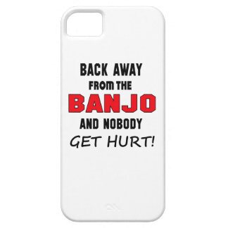 Back away from the Banjo and nobody get hurt! iPhone 5 Covers