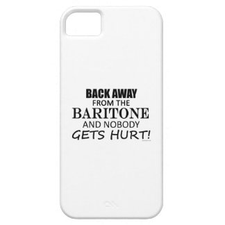 Back Away From The Baritone iPhone 5/5S Covers
