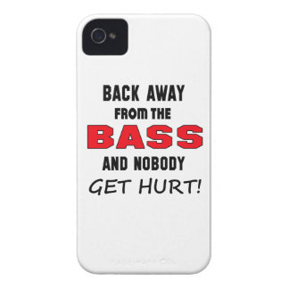 Back away from the bass and nobody get hurt! Case-Mate iPhone 4 cases