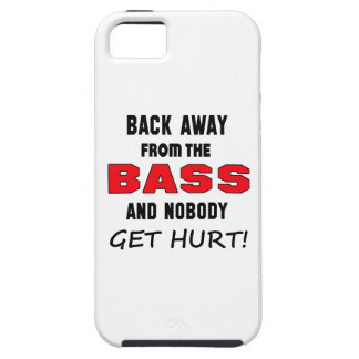 Back away from the bass and nobody get hurt! tough iPhone 5 case