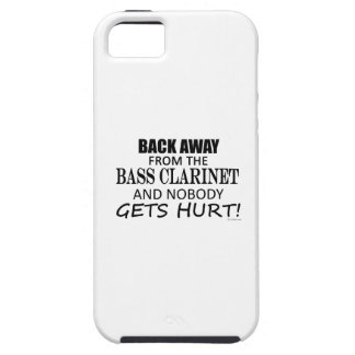 Back Away From The Bass Clarinet Cover For iPhone 5/5S