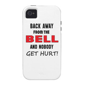 Back away from the Bell and nobody get hurt! iPhone 4 Case