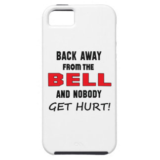 Back away from the Bell and nobody get hurt! iPhone 5 Covers
