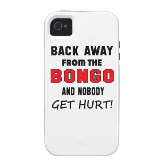 Back away from the bongo and nobody get hurt! Case-Mate iPhone 4 cases