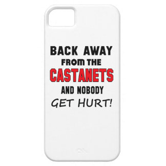Back away from the Castanets and nobody get hurt! iPhone 5 Covers