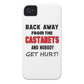Back away from the Castanets and nobody get hurt! iPhone 4 Case-Mate Cases