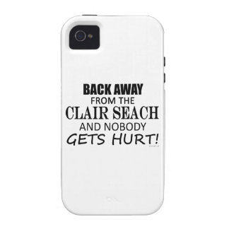 Back Away From The Clair Seach iPhone 4 Cases