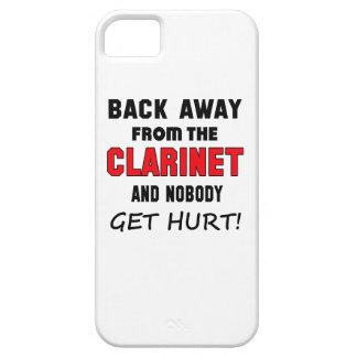 Back away from the clarinet and nobody get hurt! iPhone 5 cover