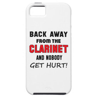 Back away from the clarinet and nobody get hurt! iPhone 5 cases