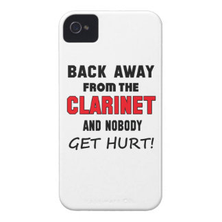 Back away from the clarinet and nobody get hurt! Case-Mate iPhone 4 case