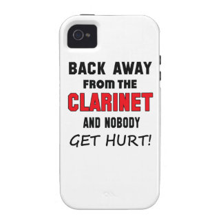 Back away from the clarinet and nobody get hurt! vibe iPhone 4 case