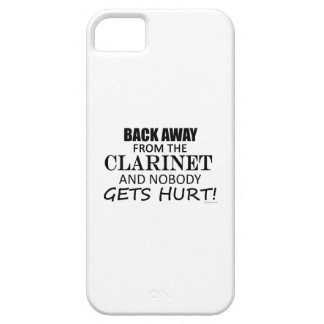 Back Away From The Clarinet iPhone 5 Cases