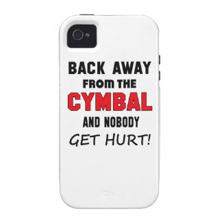 Back away from the cymbal and nobody get hurt! iPhone 4 cases