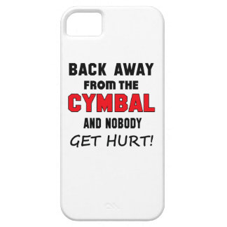 Back away from the cymbal and nobody get hurt! iPhone 5 cases