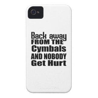 Back away from the Cymbals and nobody get hurt iPhone 4 Cases