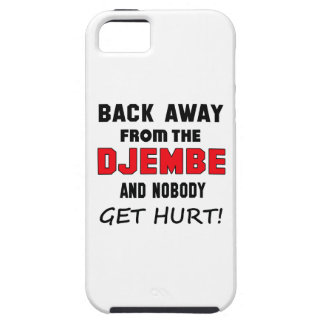 Back away from the djembe and nobody get hurt! iPhone 5 case