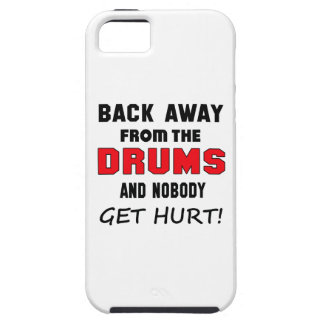 Back away from the drums and nobody get hurt! iPhone 5 covers