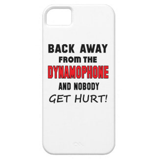 Back away from the Dynamophone and nobody get hurt iPhone 5 Case