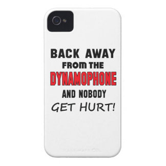 Back away from the Dynamophone and nobody get hurt iPhone 4 Cases