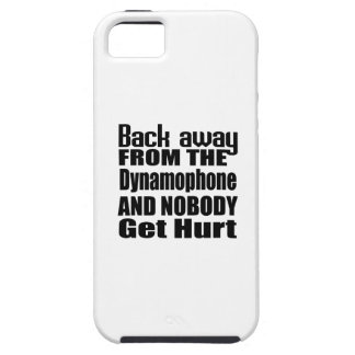 Back away from the Dynamophone and nobody get hurt Tough iPhone 5 Case