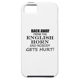 Back Away From The English Horn iPhone 5 Cases
