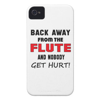 Back away from the flute and nobody get hurt! iPhone 4 cover