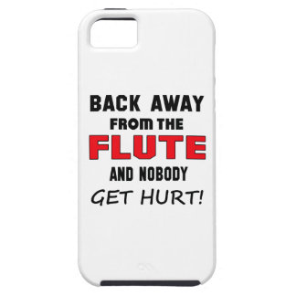 Back away from the flute and nobody get hurt! tough iPhone 5 case