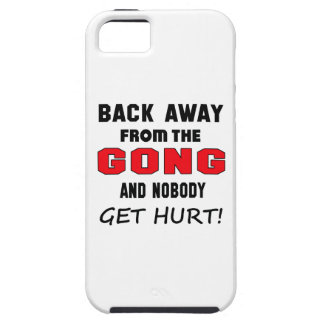 Back away from the Gong and nobody get hurt! iPhone 5 Cases