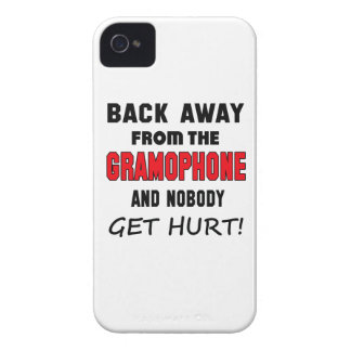 Back away from the Gramophone and nobody get hurt! iPhone 4 Covers