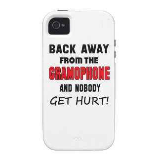 Back away from the Gramophone and nobody get hurt! Case For The iPhone 4