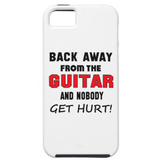 Back away from the guitar and nobody get hurt! iPhone 5 cases