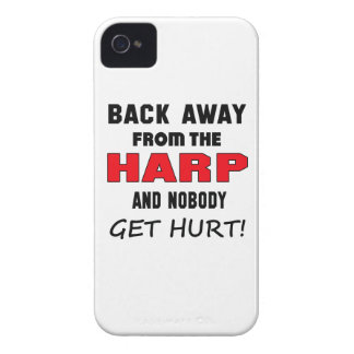 Back away from the Harp and nobody get hurt! Case-Mate iPhone 4 Case