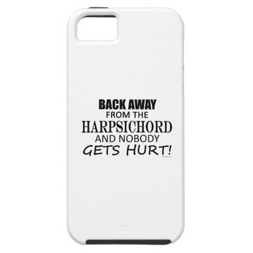 Back Away From The Harpsichord Case For iPhone 5/5S