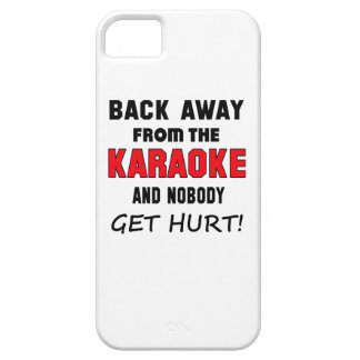 Back away from the Karaoke and nobody get hurt! Barely There iPhone 5 Case