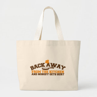 Back away from the KITCHEN  and nobody gets hurt! Jumbo Tote Bag