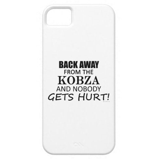Back Away From The Kobza iPhone 5 Cover