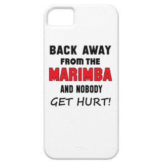 Back away from the Marimba and nobody get hurt! Barely There iPhone 5 Case