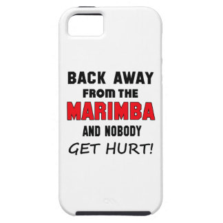 Back away from the Marimba and nobody get hurt! iPhone 5 Case