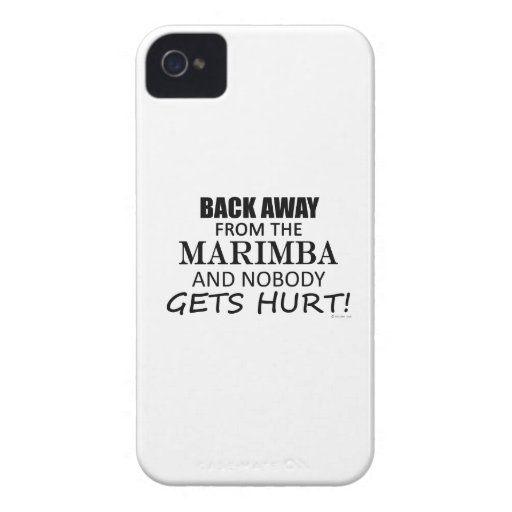 Back Away From The Marimba iPhone 4 Case