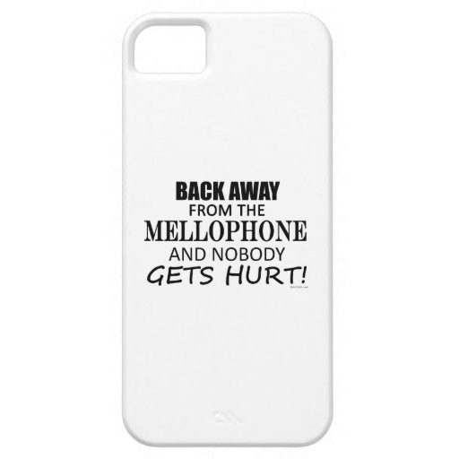 Back Away From The Mellophone Cover For iPhone 5/5S