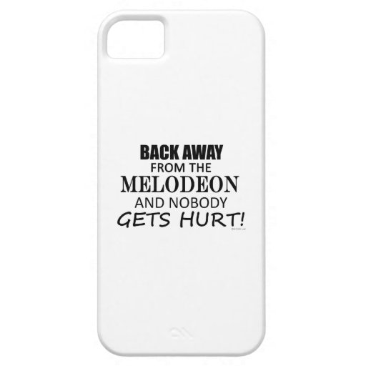 Back Away From The Melodeon Case For iPhone 5/5S