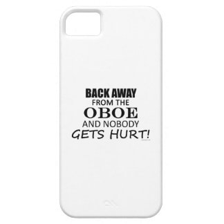Back Away From The Oboe iPhone 5 Case