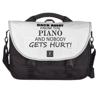 Back Away From The Piano Commuter Bag