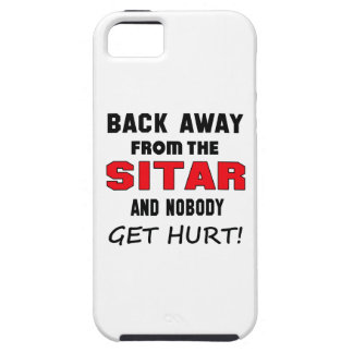 Back away from the Sitar and nobody get hurt! iPhone 5 Covers