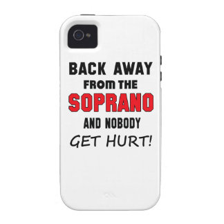 Back away from the Soprano and nobody get hurt! iPhone 4/4S Covers