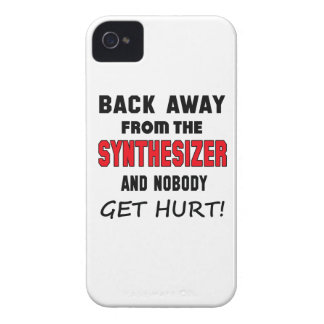 Back away from the Synthesizer and nobody get hurt iPhone 4 Cover