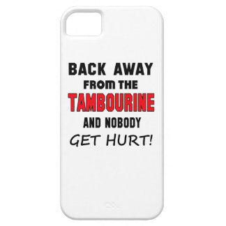 Back away from the Tambourine and nobody get hurt! iPhone 5 Covers