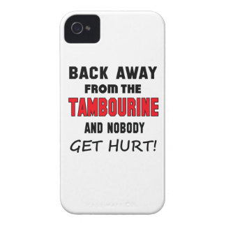 Back away from the Tambourine and nobody get hurt! iPhone 4 Case