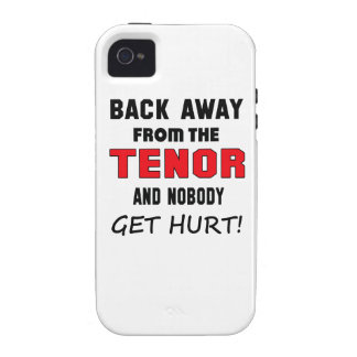 Back away from the Tenor and nobody get hurt! Case-Mate iPhone 4 Case
