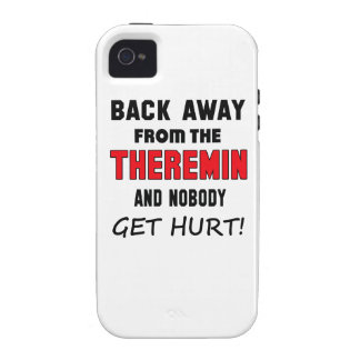 Back away from the Theremin and nobody get hurt! iPhone 4 Cases